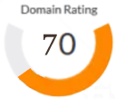 Domain Rating 70